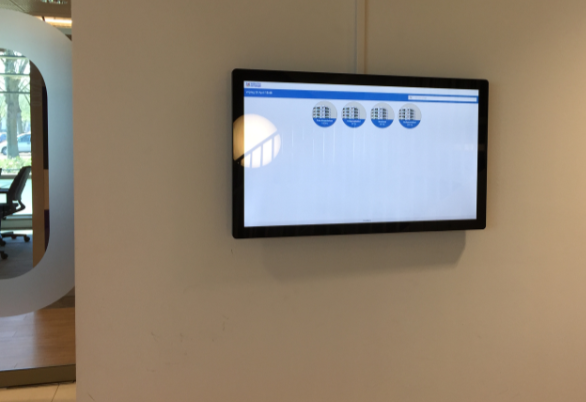 digitale schermen