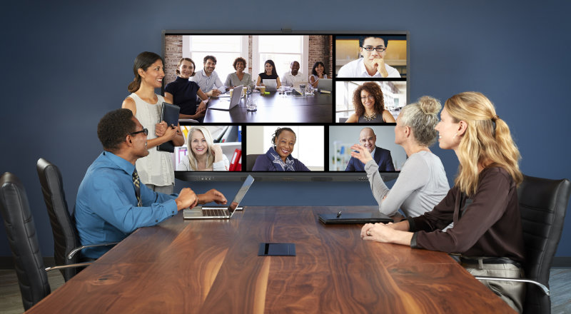 wireless video conferencing