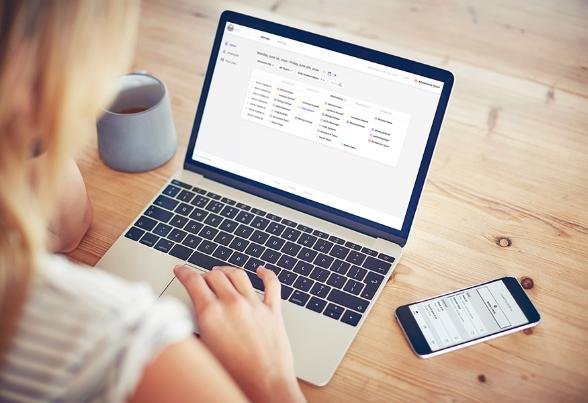 joan desk booking app